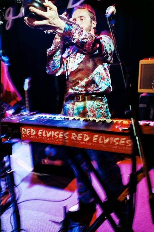 TIm Red ELvises